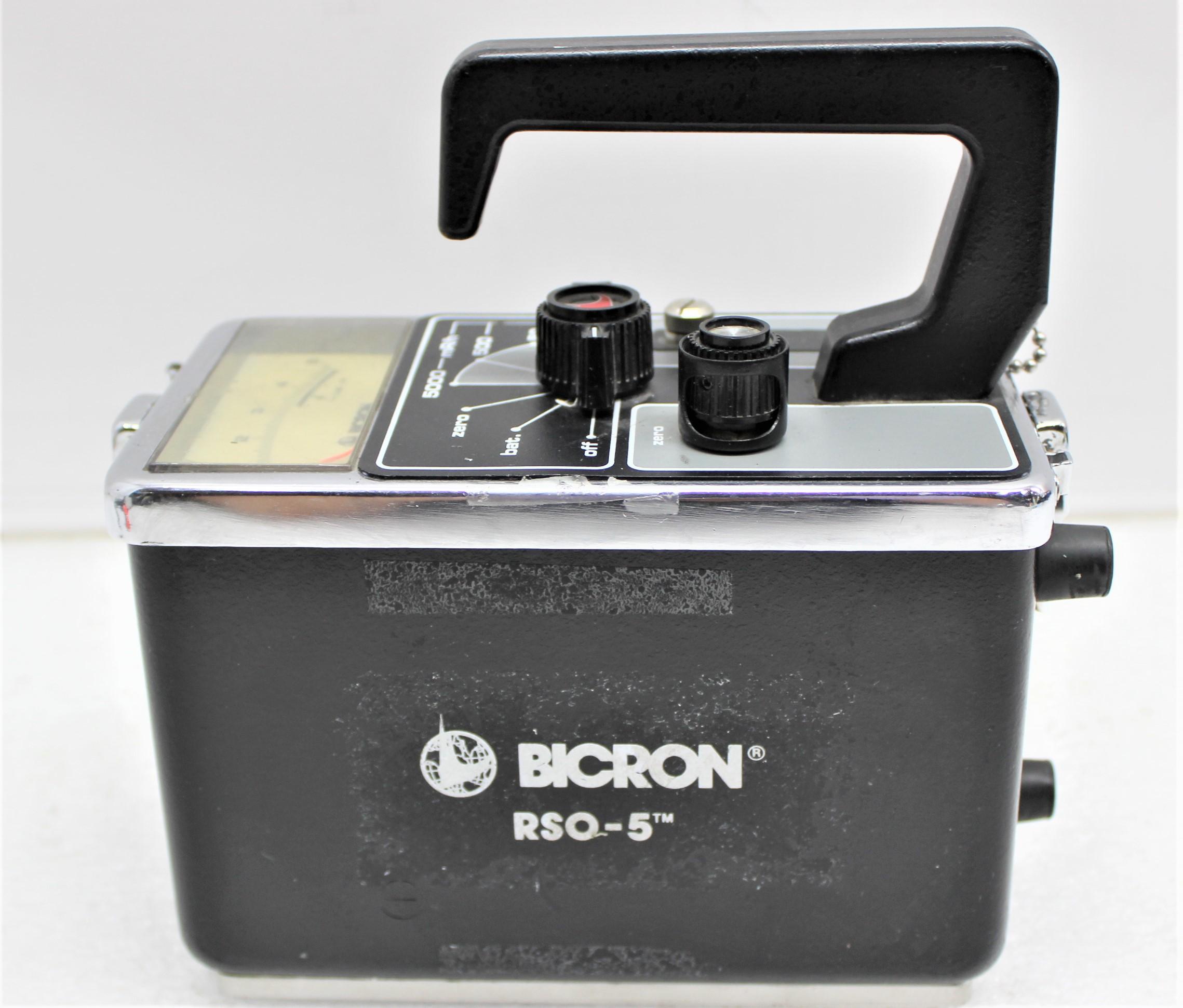 Image BICRON RSO-5 Portable Survey Meter 1587249