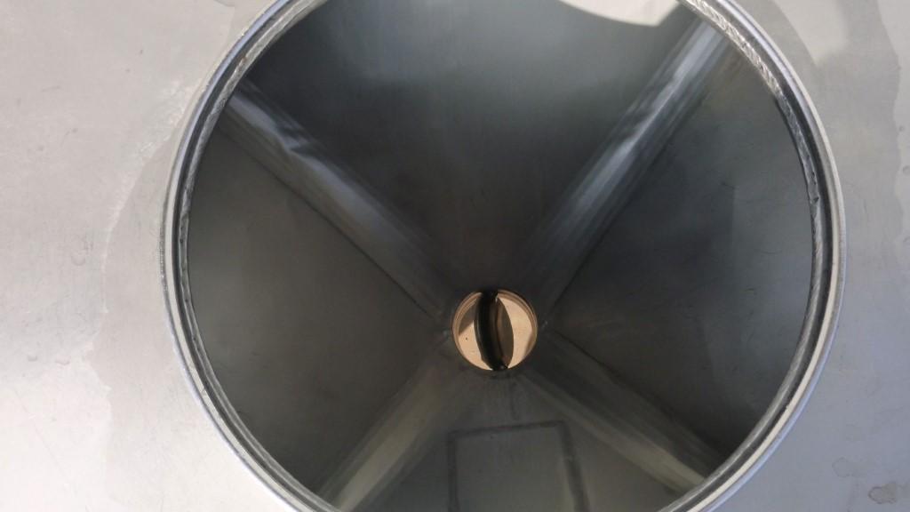 Image 25 Cu. Ft. FLO-BIN Tote Bin - Stainless Steel 1587260
