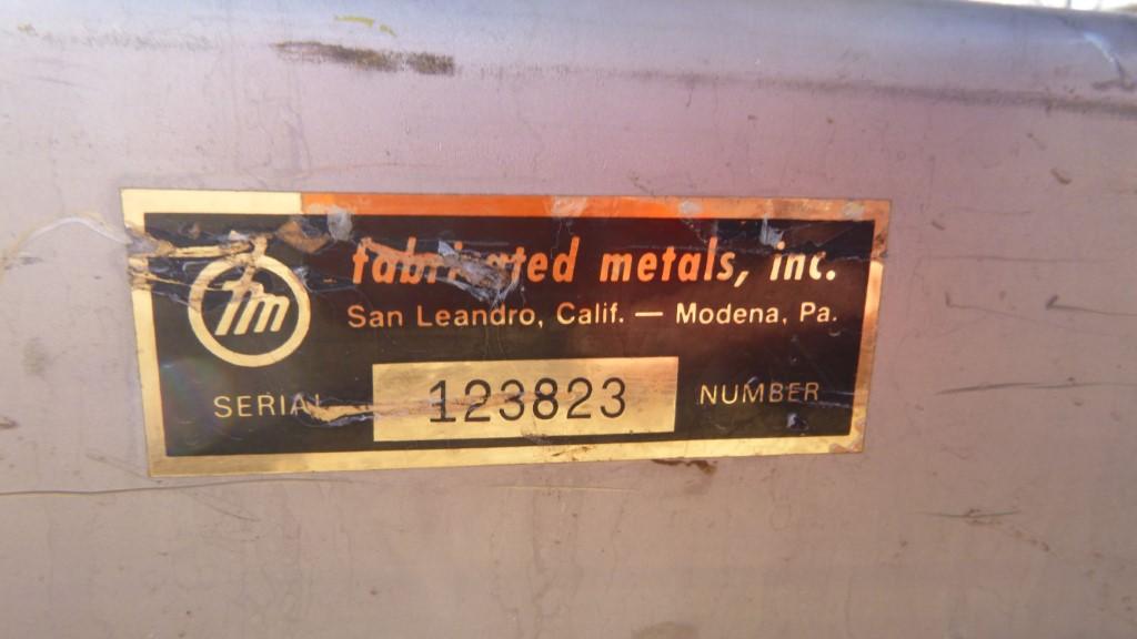 Image 25 Cu. Ft. FLO-BIN Tote Bin - Stainless Steel 1587262