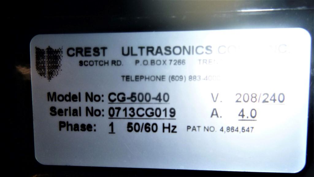 Image 4 Gallon CREST 4HT-1014-6 Ultrasonic Washer 1587305