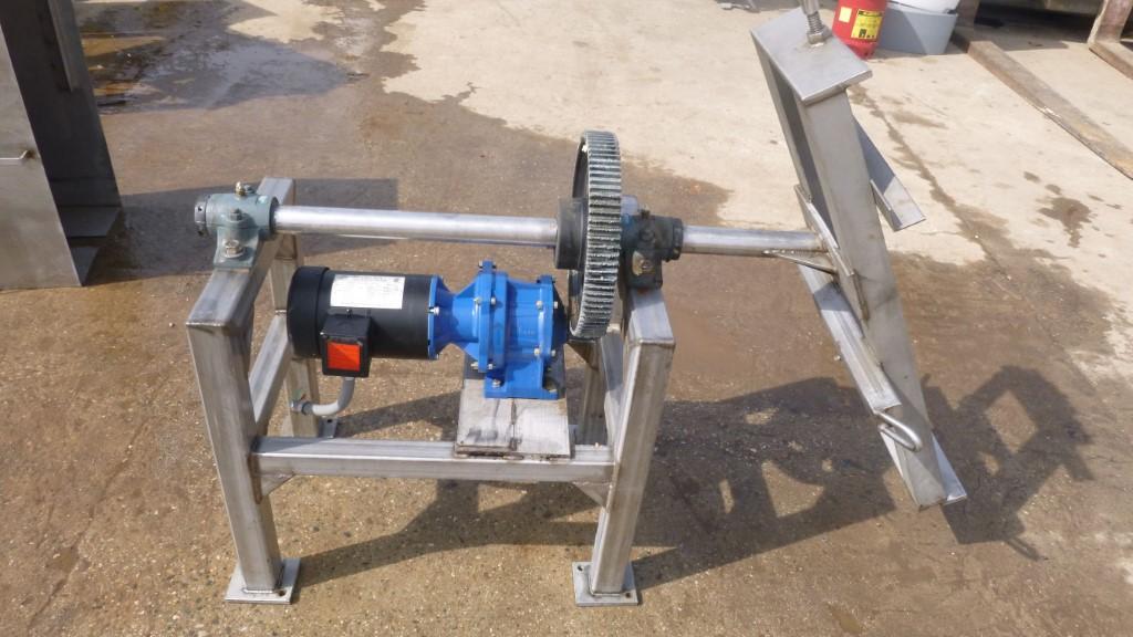 Image 30 Gallon Tumble Mixer - Stainless Steel 1587308