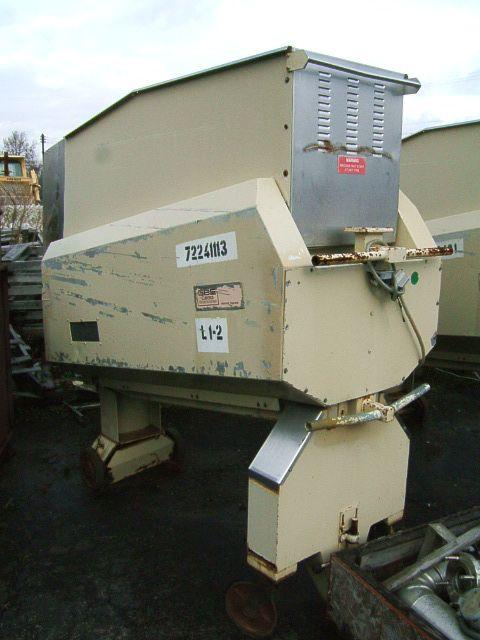 Image GBE LEGG 8 ft x 2 ft Vibrating Conveyor-Wheeled 379550