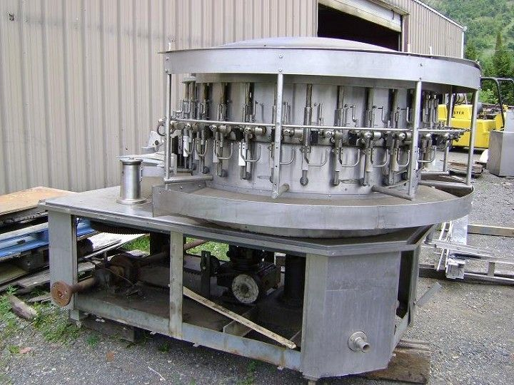 Image PERRIER 30-Station Rotary Bottle Rinser 379303