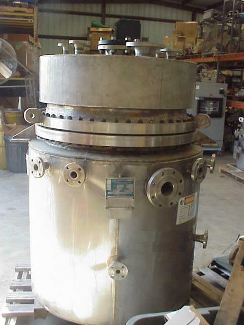 Image 150 Gallon 316L Stainless Steel Reactor, 150/FV 379245
