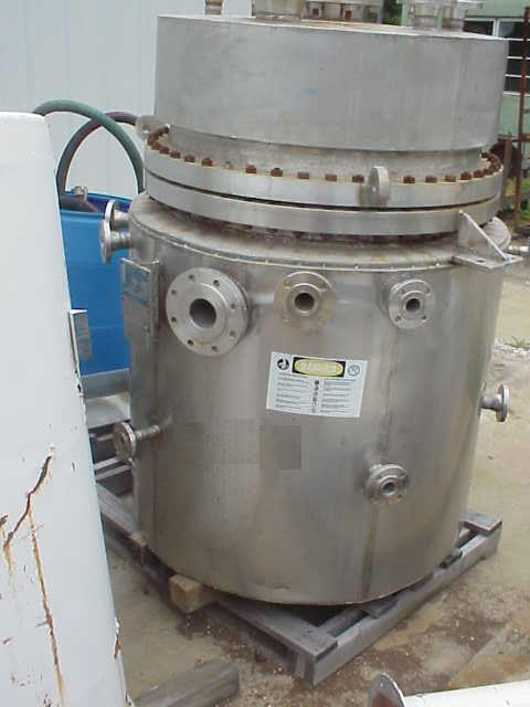 150 Gallon 316L Stainless Steel Reactor, 150/FV