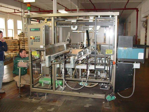 MASSMAN Compact Case Packer w/ Upstacker Infeed