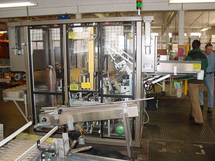 Image MASSMAN Compact Case Packer w/ Upstacker Infeed 321058