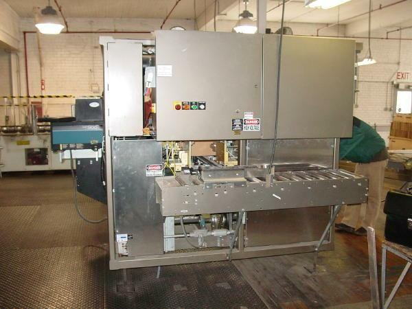Image MASSMAN Compact Case Packer w/ Upstacker Infeed 321060