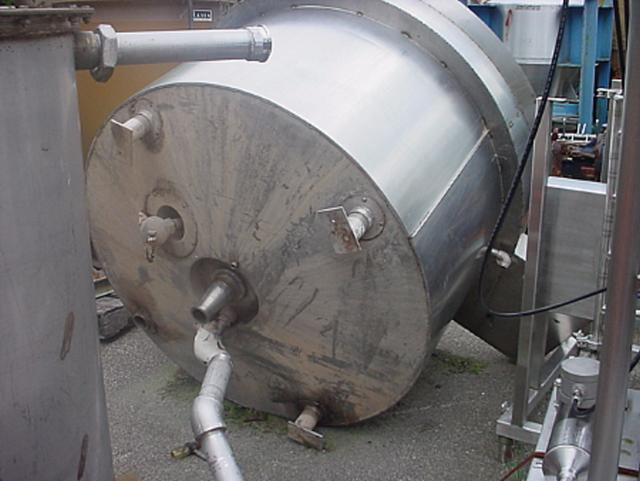 Image 150 Gallon Triple Motion Kettle - Stainless Steel 321118