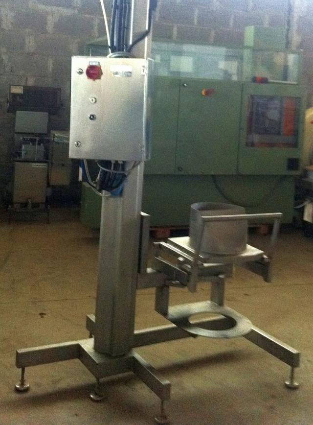 SYSPAL Single Column Drum Handler Lifter