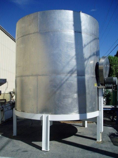 Image 5500 Gallon Dual Mixer Stainless Steel Tank 379623