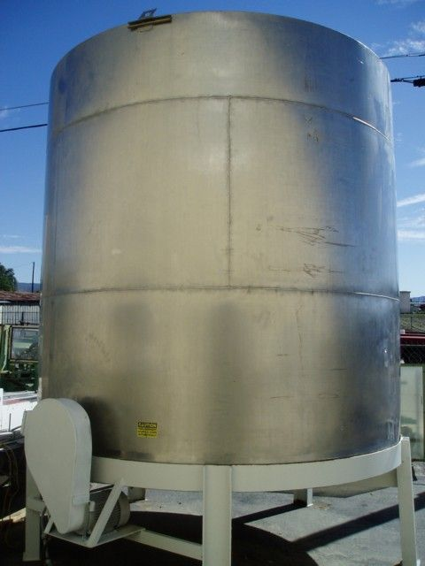 Image 5500 Gallon Dual Mixer Stainless Steel Tank 379855
